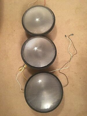 "12"" LED Traffic Stop Light Signal Set of 3: 1 Red, 1 Yellow, & 1 Green"