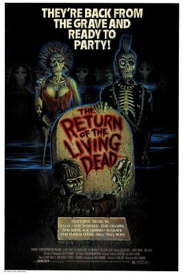 RETURN OF THE LIVING DEAD - MOVIE POSTER 24x36 - HORROR CLASSIC 52578