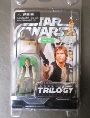 Han Solo (A New Hope) 2004 STAR WARS The Original Trilogy Collection MOC