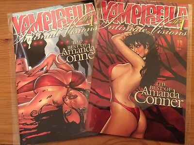 Vampirella Intimate Visions #1 The Best of Amanda Conner Cover 1A & D (wrapround