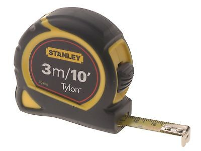 Stanley Measure Tape Pocket Steel Carded Tylon Blade 3M/10FT Corrosion Resistant