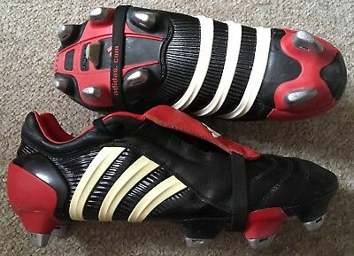 low priced 1db2b c9fd0 BNWT Adidas Adidas Adidas Predator Pulse Football Boots Sz 6 SG Vtg  Blackout 8a2bae