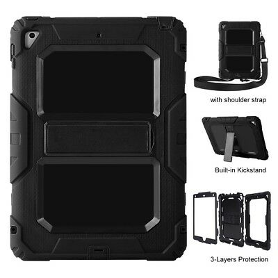 FOR 5th Generation 2017 iPad 9.7 Child Protective Shockproof Stand Case Cover