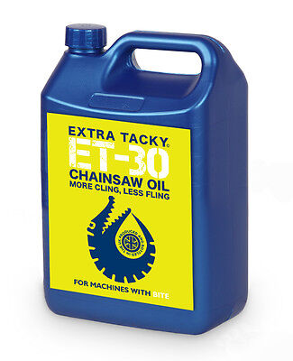 5 litres GATOR CHAINSAW OIL Chain Oil Guide Bar Pump for all Saws 100Cst
