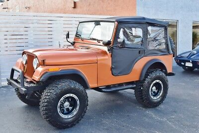 1977 Jeep CJ  Frame Off Completely Restored CJ-5 Chevy 350 V8 Collector Jeep