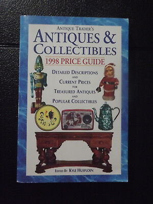 Antique Trader Books Antiques & Collectibles 1998 Price Guide for traders