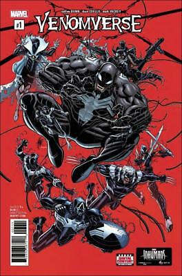 Venomverse (2017)    #1 to 5 Complete  NM- to NM/M