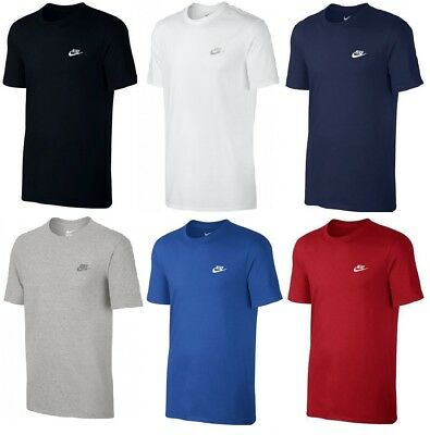 New Men's Nike Logo T-Shirt, Top - Retro Vintage Branded Sports Cotton
