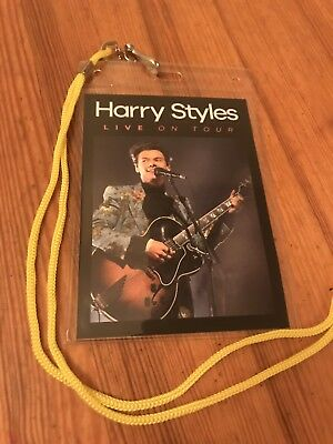 Harry Styles Tag/souvenir Replica Tour Lanyard. One Direction