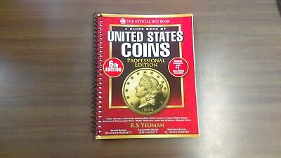 "Red Book of U.S. Coins ""Professional Edition"" 6th Edition, NEW!!!"