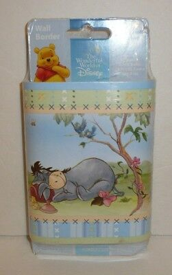 Disney Winnie the Pooh 20 Feet Wall Border Tigger Eeyore Removable Re-Usable