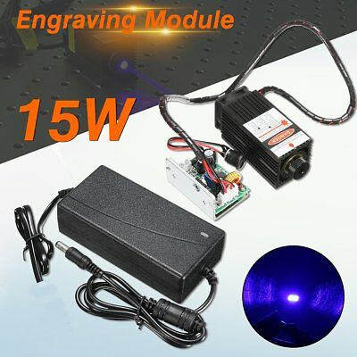Laser Head 15W Engraving Module Diode Marking Wood Cutting For Engraver