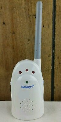 Safety First Receiver Unit Replacement Baby Monitor No. 49239 Baby Unit