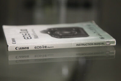 Canon 1Dii Instruction manual