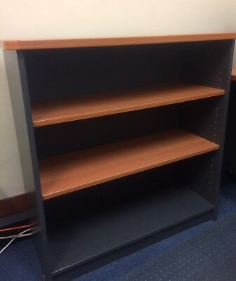 PerthPickupOnly! QUALITY BOOKCASE 90x90cm WATEC OFFICE HOME BOOKSHELF RRP$259
