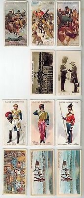 Players, Lambert & Butler Cigarette Cards - Mixed Lot - 11 Cards
