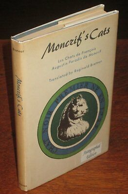 SIGNED Reginald Bretnor MONCRIF'S CATS 1965 translated, 1727 French LES CHATS