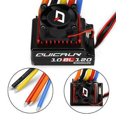 AU Hobbywing QuicRun Brushless Sensored Speed Controller 120A ESC RC Car 1/10