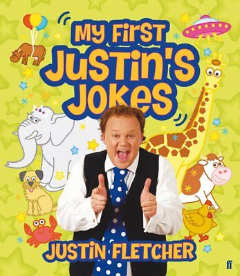 My First Justin's Jokes, Justin Fletcher Joke Book-CBEEBIES-BRAND NEW