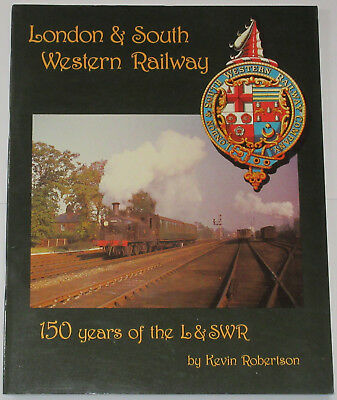 L&SWR STEAM HISTORY London South Western Railway 150 Years Stations Locomotives