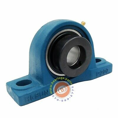 NEW HCP207-35MM  High Quality 35MM Eccentric Locking Pillow Block Bearing