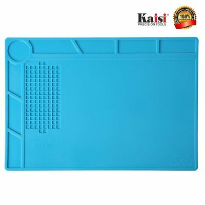 Silicone Heat Resistant Mat Use for Repair Insulation Desk Soldering Tool Pad