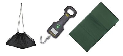 Anglers Weighing Bundle Digital Scales,Sling & Unhooking mat carp / pike fishing