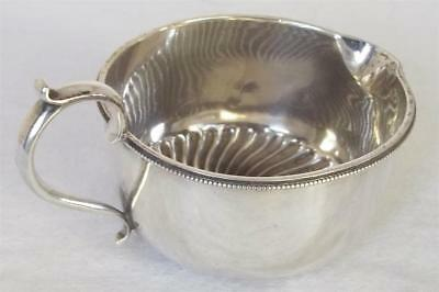 A Fine Antique Solid Sterling Silver Victorian Cream Jug London 1894.