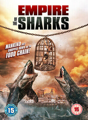 Empire of the Sharks DVD (2018) John Savage ***NEW***