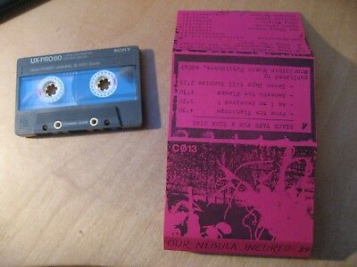 OUR NEBULA INCURED '89 rares Tape Black tape for a blue u.v.a. Underground Acts