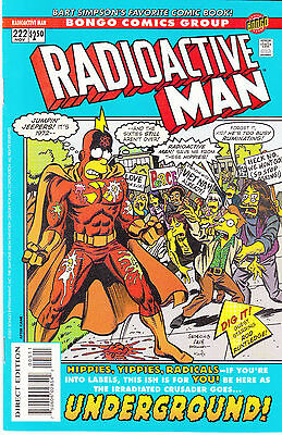 RADIOACTIVE MAN 222...NM-...2001...HTF Bargain!