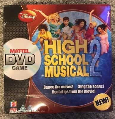 High school 2 Musical DVD Game Board Game Brand New And Sealed