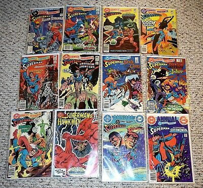 DC Comics Presents Lot of 12 Silver age - includes #47 - 1st He-Man & Skeletor!