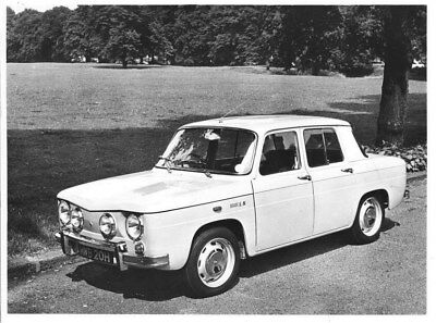 1971 Renault 8S ORIGINAL Factory Photo oua2114