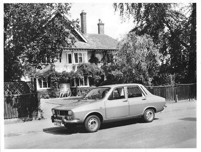 1971 Renault 12 TL ORIGINAL Factory Photo oua2124
