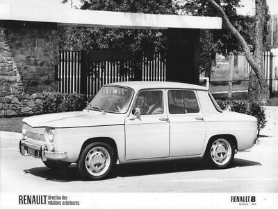 1973 Renault 8 ORIGINAL Factory Photo oua2150