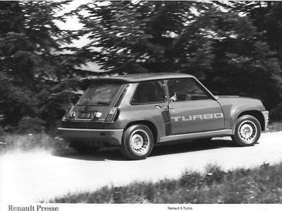 1980 Renault 5 Turbo ORIGINAL Factory Photo oua2236