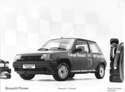 1985 Renault 5 Coupe Elf Turbo Coupe ORIGINAL Factory Photo oua2292