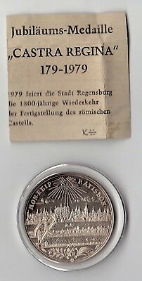 Holy Roman Empire REPRODUCTION coins: one is .9999 Silver!