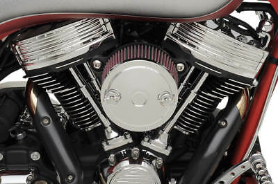 S&s Chrome Muscle Cover For S&s Stealth Air Cleaner Kits Harley 170-0121