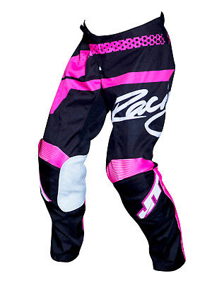 Youth MX Gear, JT Racing USA-2018 Youth Flex Hi-Lo Pants , Black/Pink