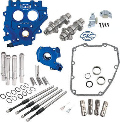 S&s 585C Chain Drive Cam Chest Kit W/ Oil Pump & Plate Harley 2007-'17 Twin Cam