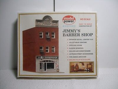 Ho Scale Model Power  Jimmy's Barber Shop No.462