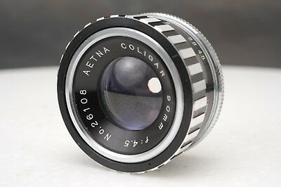 :Aenta Coligar 90mm F4.5 Enlarging Lens M39 Screw Mount