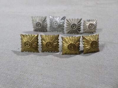 WWI AND POST German Army Rank Pips Gold Silver