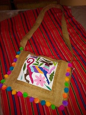 CrossBody Embroidered Mexican Bag