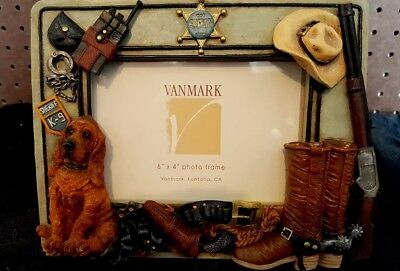 "Vanmark Legends of the Law ""Picture Frame"" NEW"