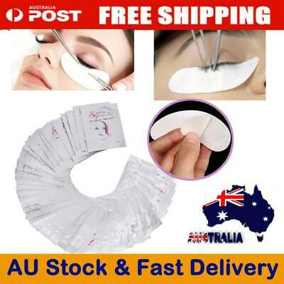 50/2000 PAIRS Under Eye Curve Eyelash Pads Gel Patch Lint Free Lash Extension