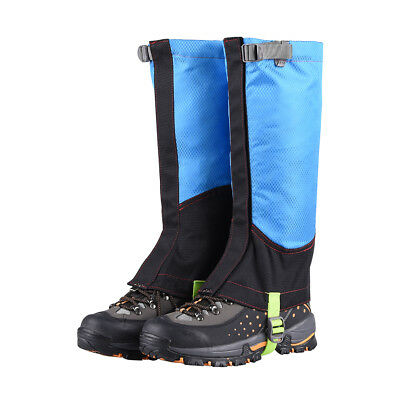 "2pcs 15"" Outdoor Hiking Hunting Waterproof Boots High Snow Legging Gaiters"