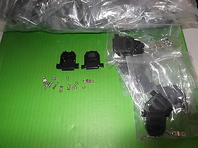 Dee Cover 15 Way 1000pcs BULK Hood D Black Backshell Short Screw Trade offer ONO